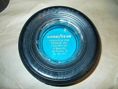 1960's GOODYEAR TIRE ASHTRAY POLYSTEEL RADIAL