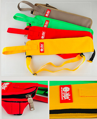 Small drum stick bag Red DST-001  - Thesoundofmuzic