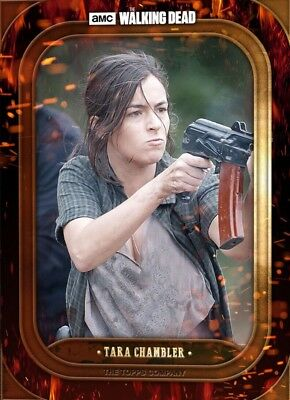 BADASS MARATHON WAVE 2 TARA CHAMBLER The Walking Dead Card Trader Digital
