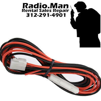 T Shaped VERTEX OEM DC Power Cable for also for KENWOOD YAESU ICOM Mobile Radios