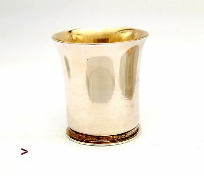 1966  European solid Sterling Silver Cup / 54