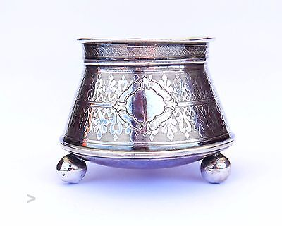 1878 Antique Imperial Russian 84 solid  Silver  Bowl