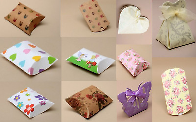 Gift Box Pillow Pack Box Gift Bag favours Present Wrapping For Jewellery & Gifts
