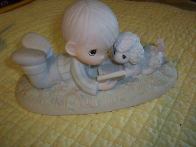 Precious Moments Figurine   I Love to Tell The Story
