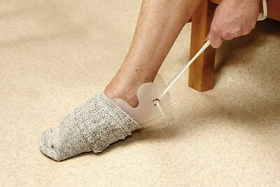 Flexible Sock And Stocking Aid Helper - Making it easy to pull on socks