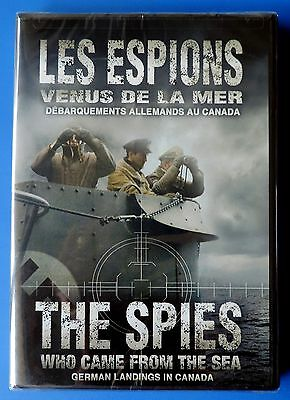 Les Espions Venus de la Mer The Spies Who Came from the Sea WWII  DVD new