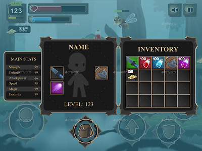 Complete set of 2D game kit, source code, mobile apps.