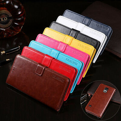 Luxury PU Leather Wallet Card Holder Phone Case Cover For Samsung Galaxy Z4 S5