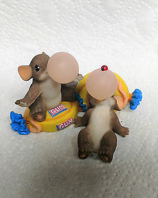 "Charming Tails ""Bubbly Good Friends"" Fitz and Floyd Mouse Figurine"