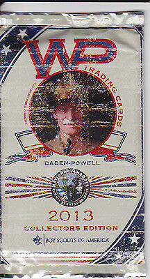 2013 Boy Scouts of America National Jamboree Baden-Powell WP Trading Cards Packs