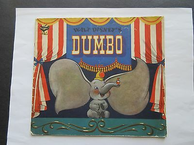 1941 Vintage  WALT DISNEY'S DUMBO The Elephant With Sketches & Photographs BOOK • $8.00