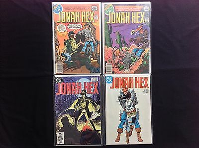 JONAH HEX Lot of 4 DC Comic Books - #23 25 89 91!