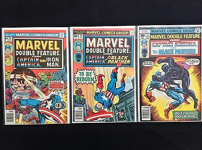 MARVEL DOUBLE FEATURE Lot of 3 Marvel Comic Books - #18 20 21!