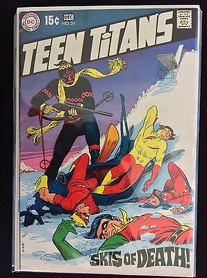 TEEN TITANS #24 Lot of 1 DC Comic Book - Last Silver Issue!