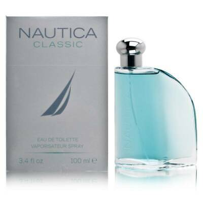 *NEW* Nautica Cologne for Men 3.4 oz Eau de Toilette Spray - Classic Edition