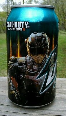 1 Full ~ MOUNTAIN DEW ~ GAME FUEL CALL OF DUTY Black Ops III Mtn Dew (id: f