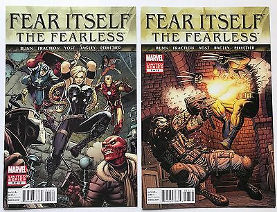 Fear Itself: Fearless #6 7 (of 12) Lot of 2, Marvel