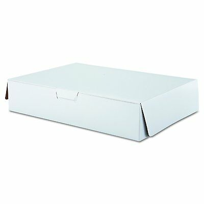 SCT 1029 Tuck-Top Bakery Boxes, 19w x 14d x 4h, White Case of 50