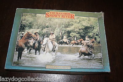 The Man from Snowy River Vintage Jigsaw Puzzle Movie Memorabilia 1982