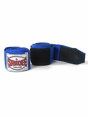 Sandee Hand Wraps 2.5M Blue Stretch Boxing Muay Thai Kickboxing Striking MMA