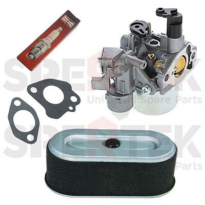 Carburetor + Gasket +  Air Filter + Spark Plug For Subaru Robin SP170 EX17 Rep
