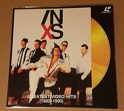 INXS ‎– Greatest Video Hits 1980-1990 PAL LASER DISC MICHAEL HUTCHENCE COUNTDOWN