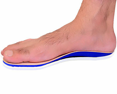 Diabetic Full Length Insoles Cushioning Comfort Foot Support Orthotics