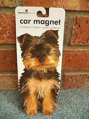 Paper House Dog Car Magnet Terrier  New