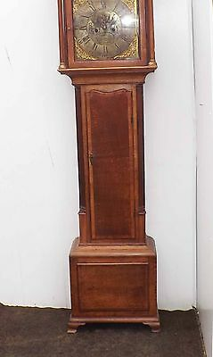 antique longcase clock Georgian  era.
