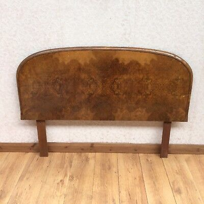 Vintage Burr Walnut Headboard