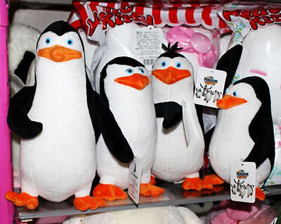 The Penguins of Madagascar Private / Skipper / Rico / Kowalski Plush Toy Doll