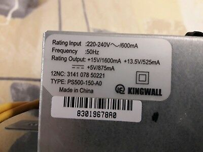 kingwall PSU