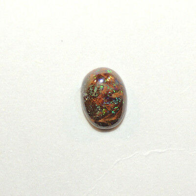 Boulder Opal Cabochon 11x8mm with 4.5mm dome from Australia  (12596)