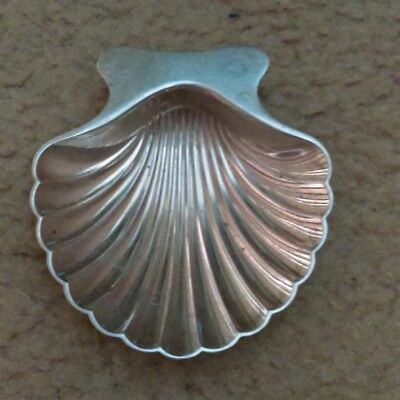 Tiffany & Co. Makers Sterling Scalloped Shell Dish 34 grams