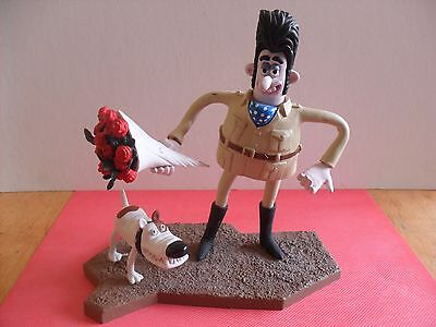 Wallace and Gromit Victor Quatermaine Toy Figure The Curse Of The Were-Rabbit