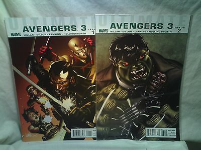 Ultimate Avengers 3 Marvel Comics issues 1 2