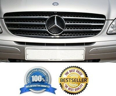 Mercedes-Benz VITO VIANO W639 - CHROME Kit Front Grille Covers 3M Trim Tuning