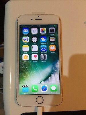 Apple Iphone 6S 16GB Rose Gold Locked To Vodaphone Smartphone  Read Description