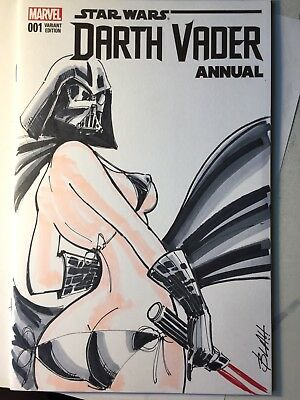 Darth Vader Annual 1 Sketch Cover Variant