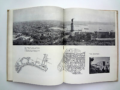 The history of Soviet architecture USSR Russian Book Album 1962