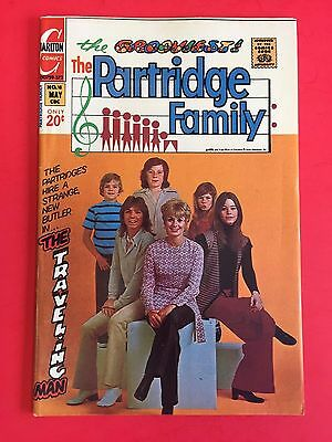 The PARTRIDGE FAMILY # 18 - COMIC BOOK - CHARLTON 1973 - PHOTO COVER HIGH GRADE