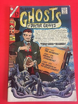 HORROR COMICS- GHOSTS DR. GRAVES  # 1 - 69 (53 issues)  SHARP GRADES - 1960/70's
