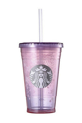 Starbucks Korea 2017 limited edition cherry blossom cold cup(473ml)