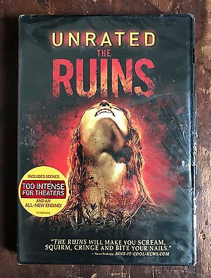 The Ruins UNRATED 2008 DVD NEW/SEALED Widescreen DreamWorks Pictures!  Horror!