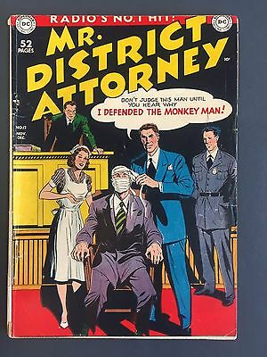 # 12 Mr. District Attorney (1949 )  Dc Golden Age Crime Stories - Comic Book