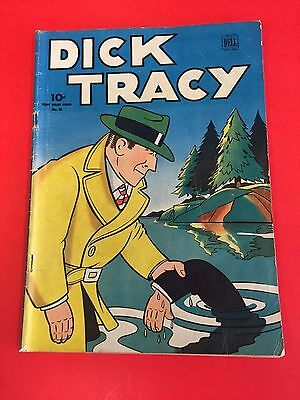 DICK TRACY four color # 56   - DELL COMICS - 1944 - Golden age Comic