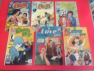 CHARLTON ROMANCE  COMIC LOT - 60 Issues - 1960's/1970's - LOVE AND ROMANCE !!!