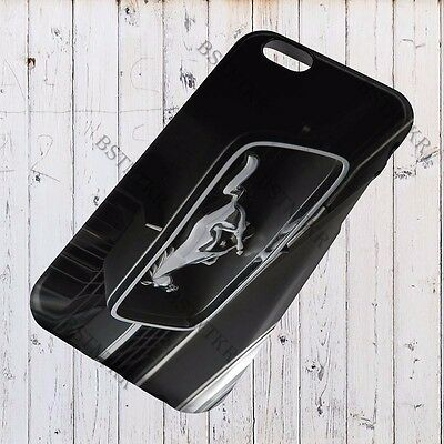 Ford Mustang Logo Iphone 4 S 5 5s 6 6s Plus 7 8