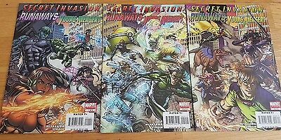 Secret Invasion Young Avengers & Runaways (Marvel Limited Series) 1 - 3