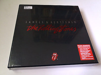 "The Rolling Stones ""ladies & Gentlemen"" 3Dvd Box Set Limited Edition Deluxe Book"